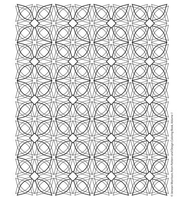 Freebie from Jenean Morrison\'s Pattern and Design Coloring Book ...