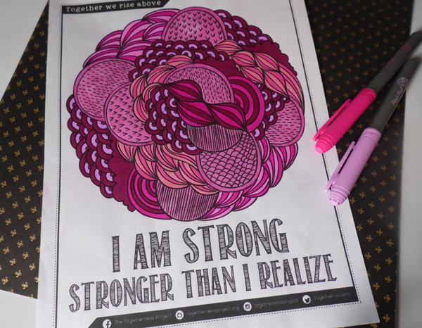 Download A Free Coloring Book From The Togetherness Project Simply Inspired